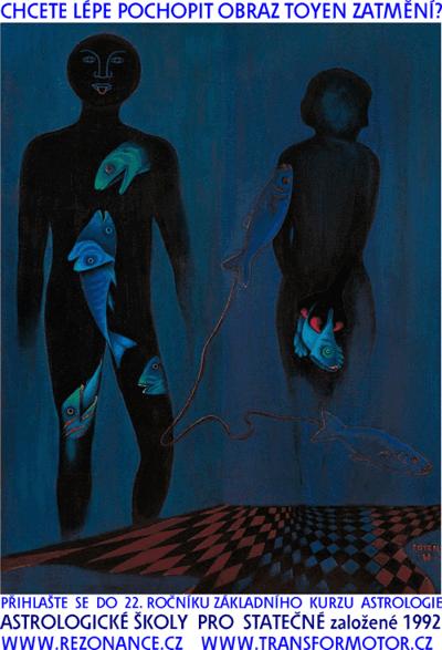 obraz Toyen Zatmění  z roku 1968